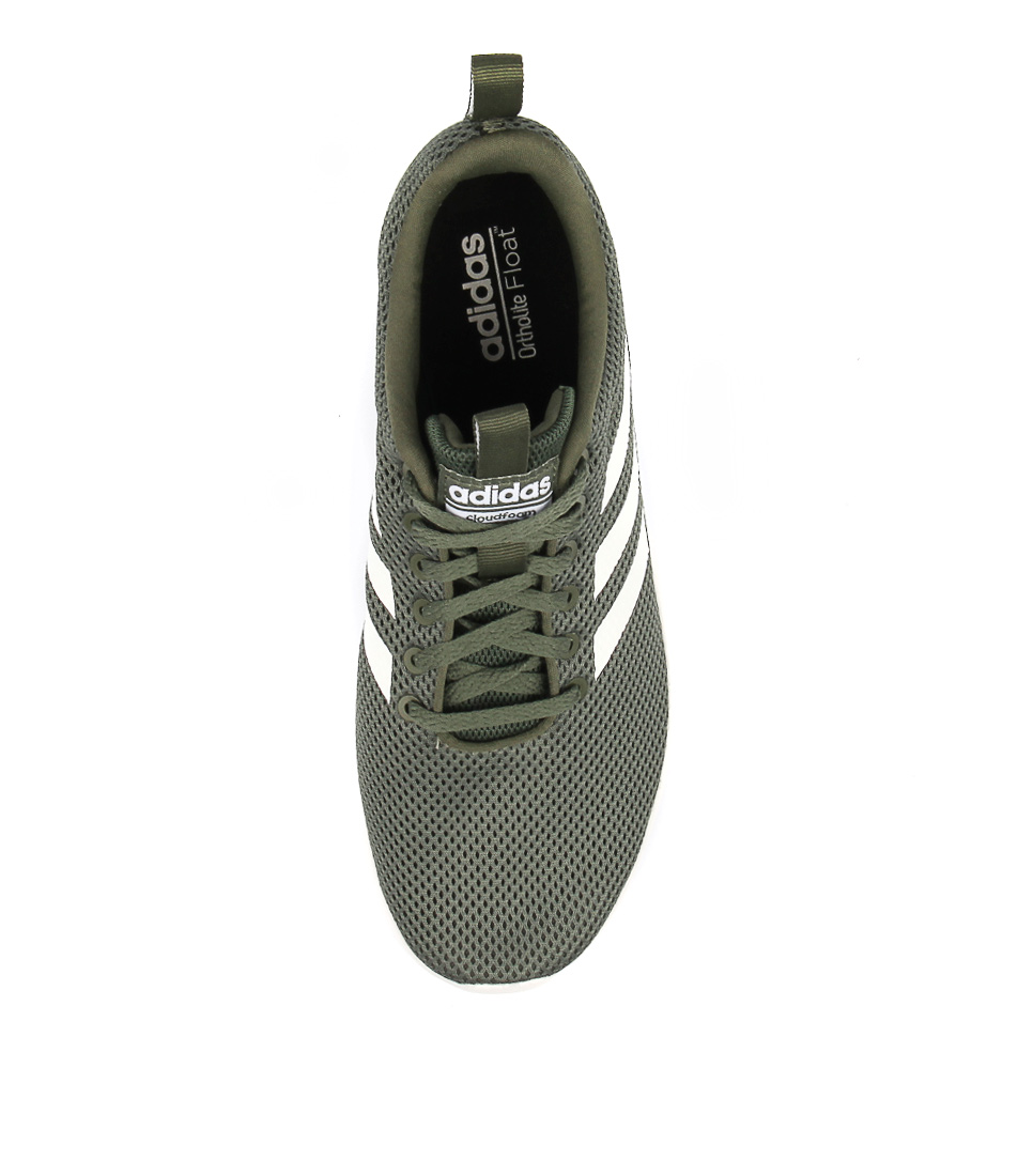 LITE RACER CLN M GREEN WHITE SMOOTH by ADIDAS - at Styletread eef25c4d3