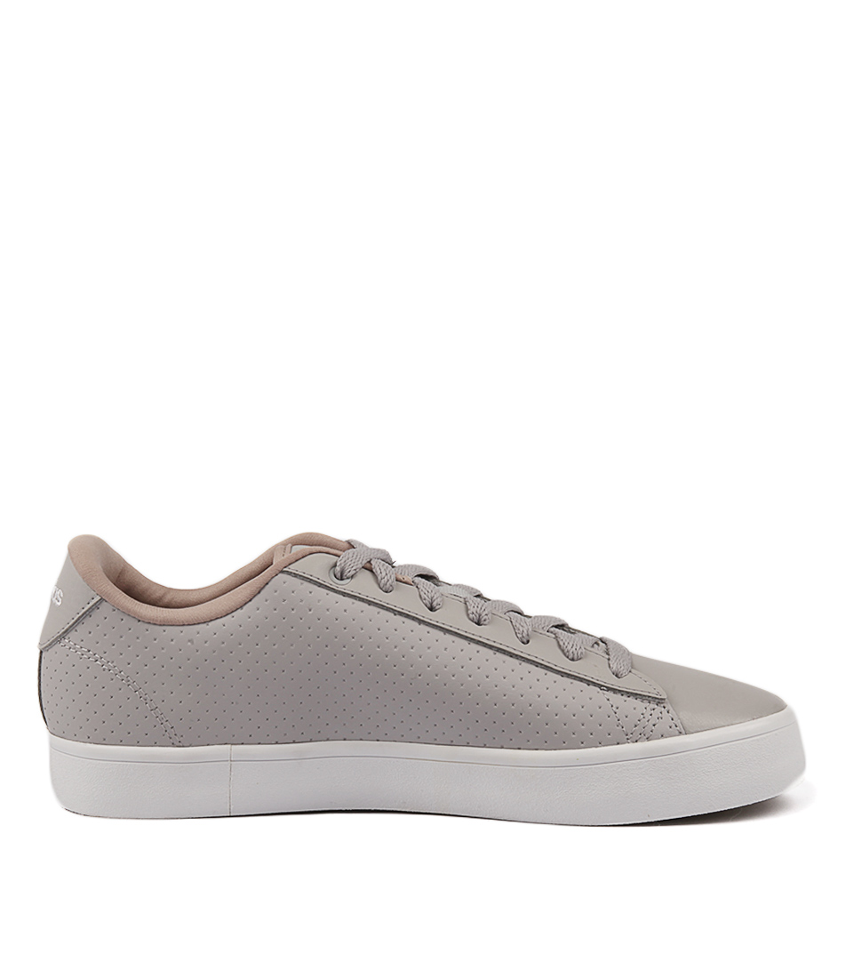 promo code 3838f de150 CF DAILY QT CL GREY GREY KHAKI LEATHER by ADIDAS NEO - at St
