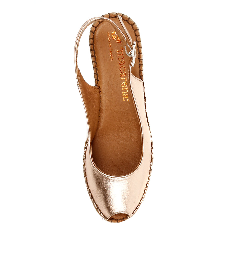 98d3119bbc6 ANA 11 ROSA (ROSE GOLD) GALAXY (METALLIC LEATHER) by MACARENA - at Mollini