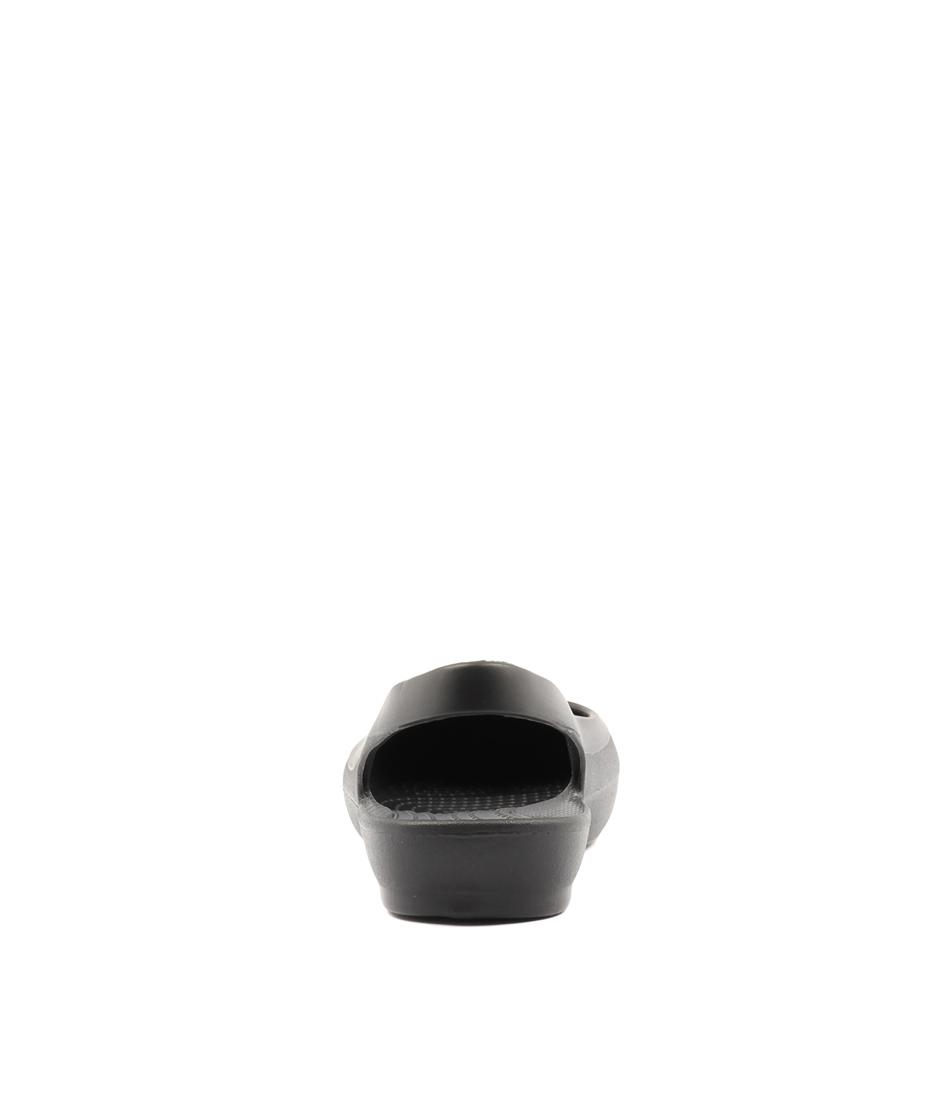 1188b9f27 EVE SLINGBACK BLACK SMOOTH by CROCS - at Styletread NZ