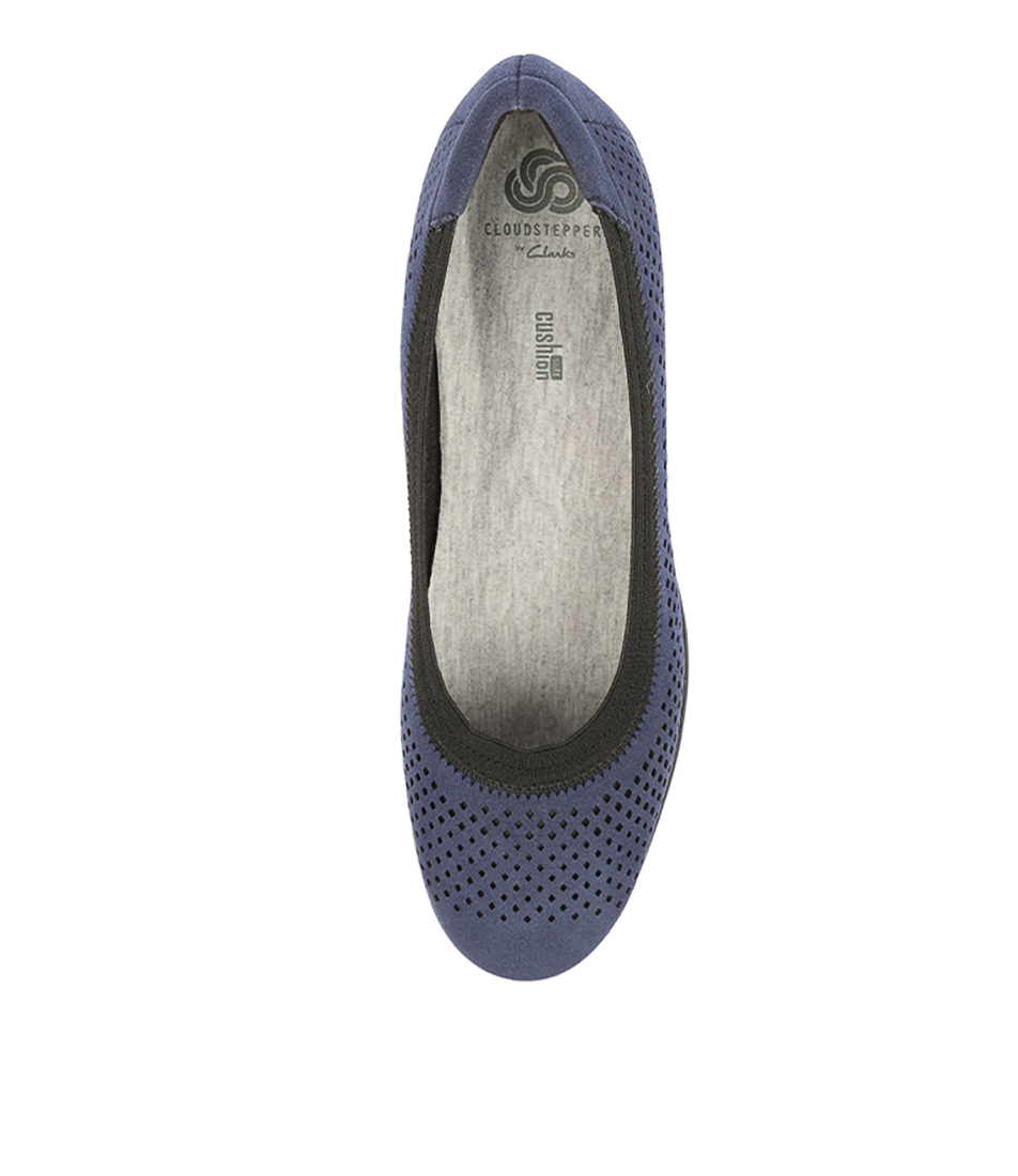 e319b1e790cd CADDELL TRAIL NAVY FABRIC by CLARKS - at Mountfords
