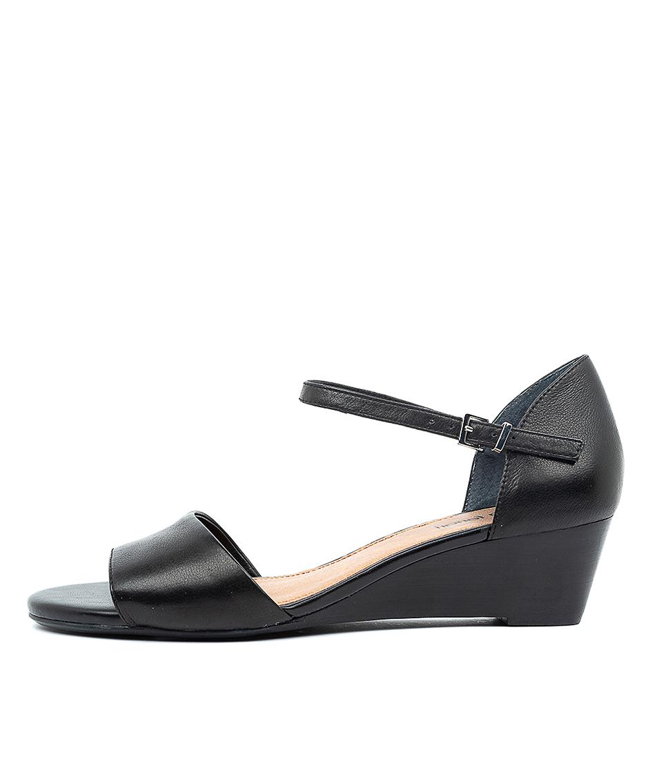 Glaydie Df Black Leather by Diana Ferrari