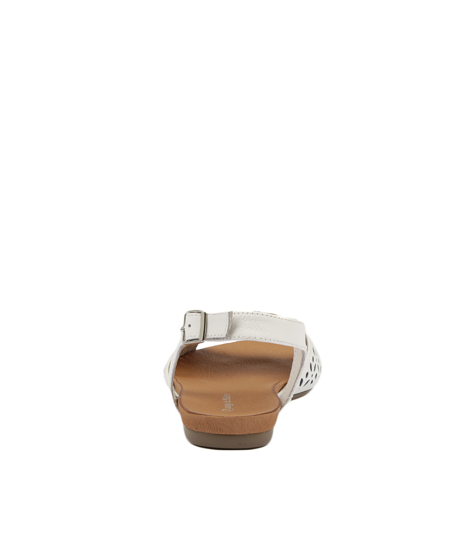 73f997c7fd649 JOBINASS WHITE SILVER LEATHER by DJANGO   JULIETTE - at Cinori