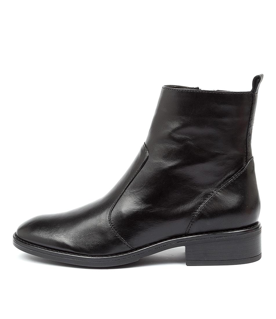 ILOSIA - BRANDY/BLACK LEATHER - Evans Shoes