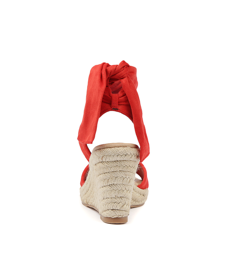 2d1e8b03321b1 WILFORD RED MICROSUEDE by I LOVE BILLY - at Wanted