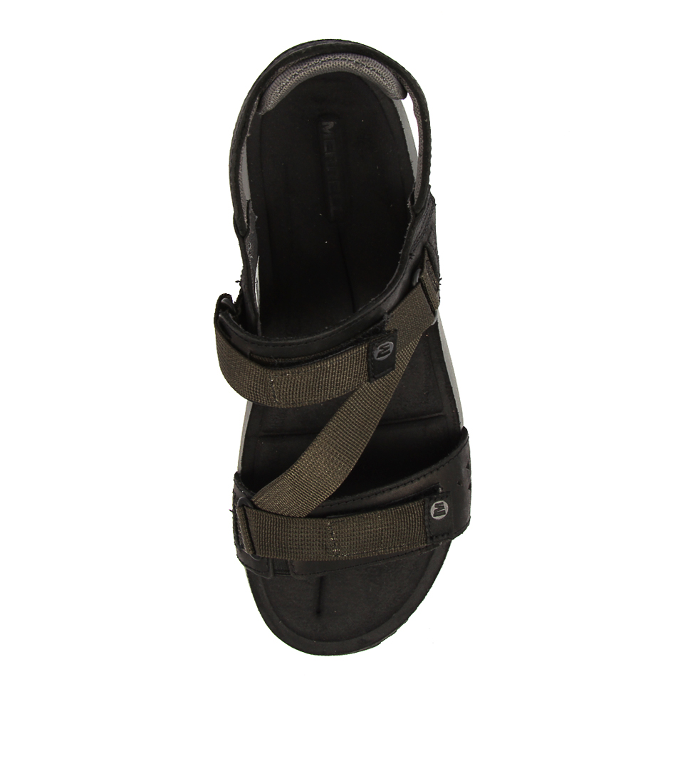 efe6082d6c4 TERRANT STRAP BLACK LEATHER by MERRELL - at Styletread