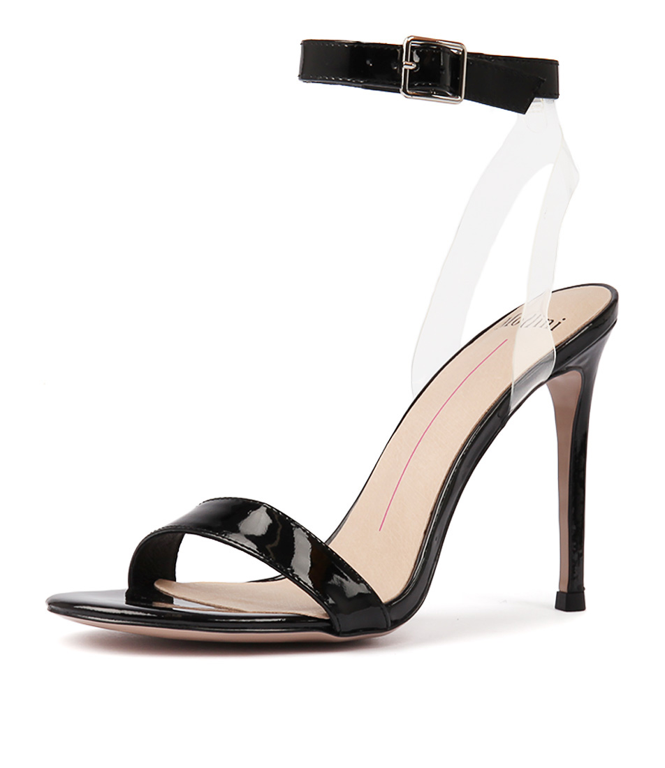 24b3759af48 DEON BLACK CLEAR PATENT VINYLITE by MOLLINI - at Wanted