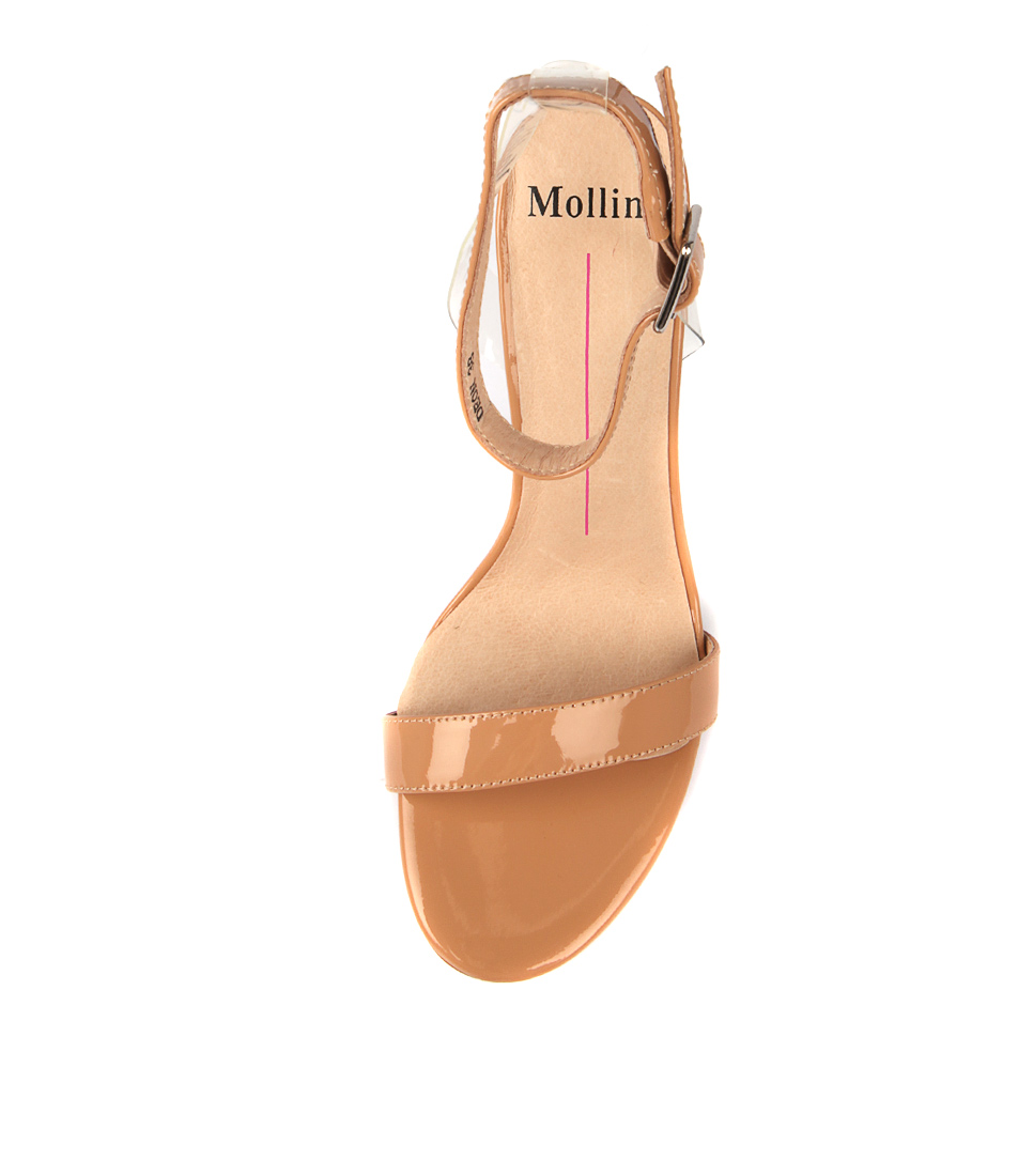 bc663b5494d DEON NUDE CLEAR PATENT VINYLITE by MOLLINI - at Wanted