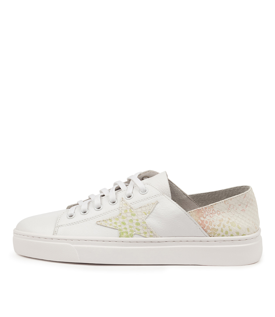 Oholiday Mo White Yellow Leather by Mollini