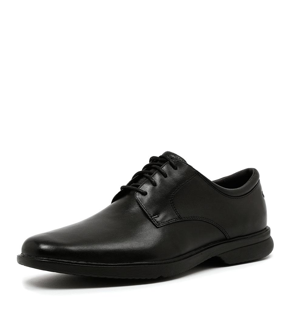 ROCKPORT allander black leather