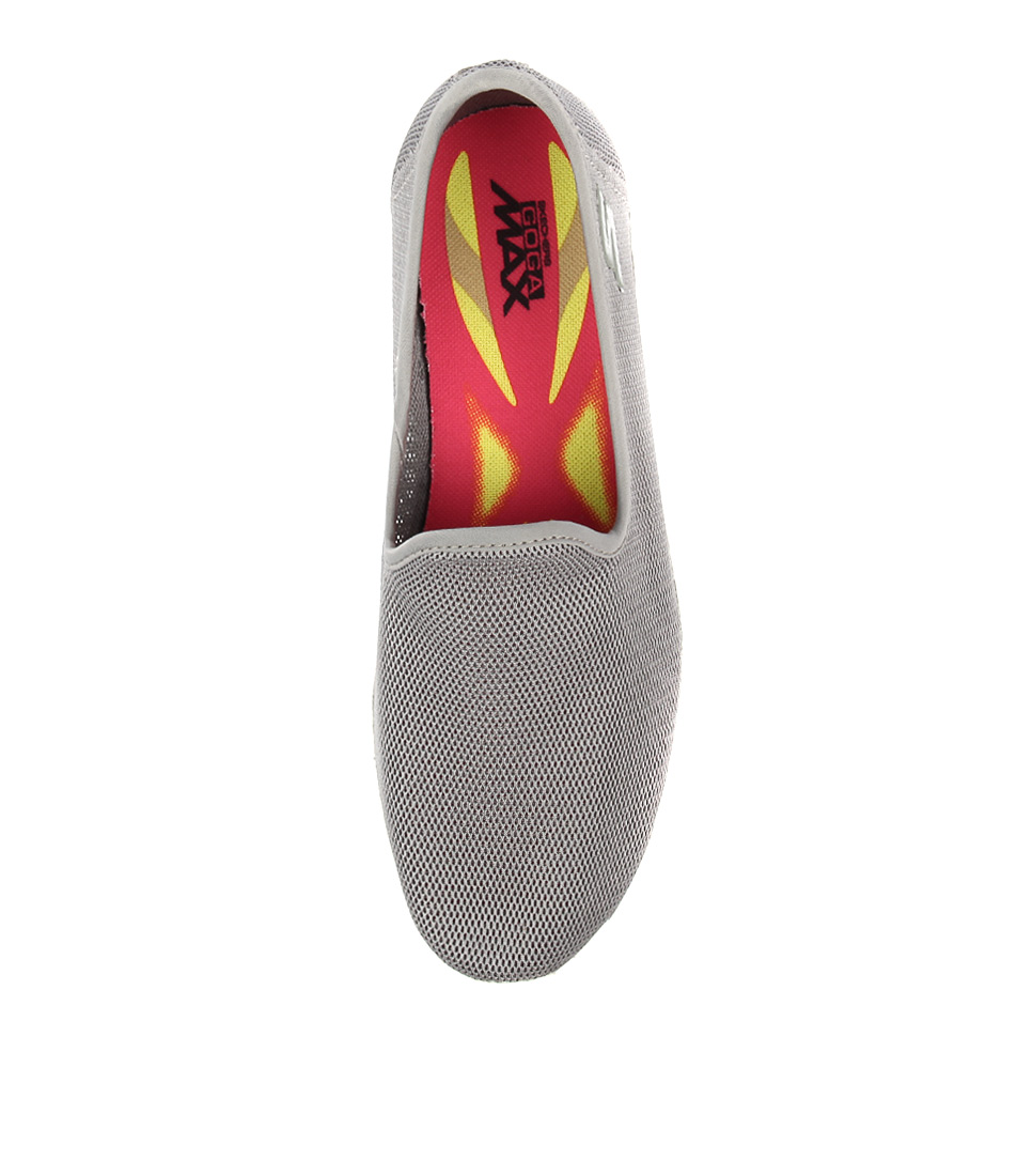 0cf389f5d9e9 14906 GO WALK 4 AIRY GREY SMOOTH by SKECHERS - at Styletread